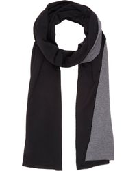 Barneys New York Double-face Reversible Scarf - Lyst