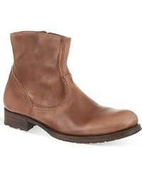 NDC Christine Leather Ankle Boots - For Women - Lyst