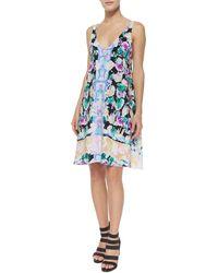 Nanette Lepore Wildflower Sleeveless Cocktail Dress - Lyst