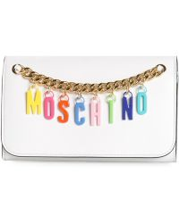 Moschino Logo Letter Crossbody - Lyst