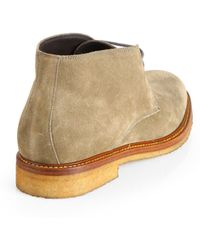 To Boot Suede Chukka Boots - Natural