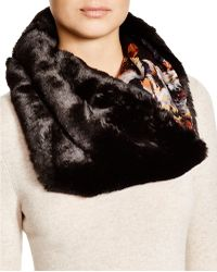 Badgley Mischka - Faux-fur Collar - Lyst