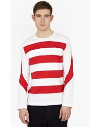 Ganryu | White Cotton Long-sleeved T-shirt | Lyst