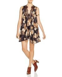 Free People | So You Say Dobby Slip Dress | Lyst