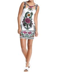 Plenty by Tracy Reese Printed Cutout Dress - Lyst
