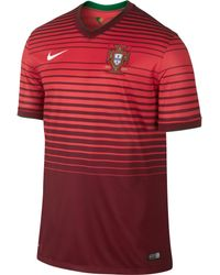 Nike Mens Portugal World Cup Home Stadium Jersey - Lyst