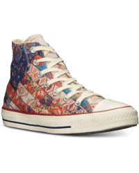 Converse Womens Chuck Taylor Hi Top Casual Sneakers From Finish Line - Lyst