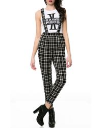 Moon Collection The Plaid Jumper - Lyst