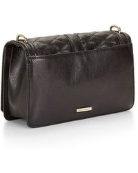 Rebecca Minkoff Love Crossbody black - Lyst
