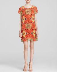 Kut From The Kloth Jenay Short Sleeve Printed Dress - Lyst