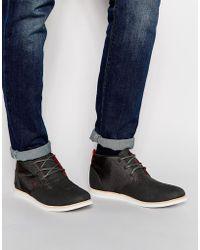 Boxfresh - Dalston Canvas Chukka Boots - Lyst