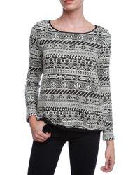 Ba&sh Santa Sweater gray - Lyst