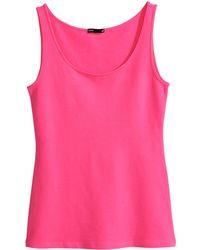 H&M Basic Vest Top - Lyst