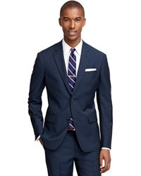Brooks Brothers Milano Fit Navy 1818 Suit blue - Lyst
