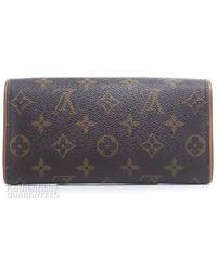 Louis Vuitton Pre-owned Monogram Canvas Twin Pm Bag - Lyst