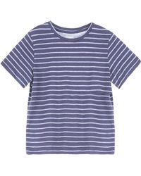 Band of Outsiders Stripe T-Shirt - Lyst