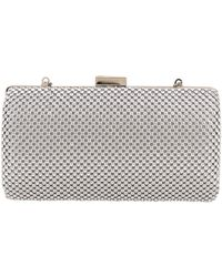 Nina Kenney Metal Mesh Framed Clutch - Lyst