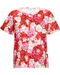 Isolda Floral Print T-shirt - Lyst