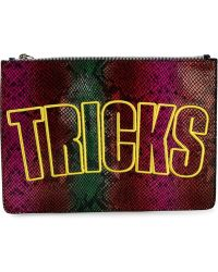 House of Holland 'Bag Of Tricks' Clutch multicolor - Lyst