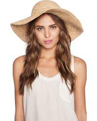 Seafolly Jetset Hat - Natural