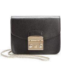 Furla Metropolis Leather Crossbody Bag - Lyst