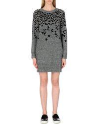 Rag & Bone Isadora Knitted Jumper Dress - Lyst