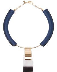Marni Geometric Necklace - Lyst