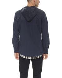 Still Good - Hooded Shirt Jacket - Lyst