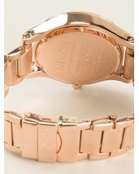 Nixon Gold Chrono Watch - Lyst