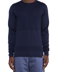 Norse Projects Blue Bubble Crew - Lyst