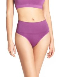 Yummie By Heather Thomson - 'jasmine' Shaping Thong - Lyst