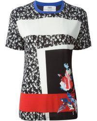 Prabal Gurung Floral Print T-Shirt - Lyst