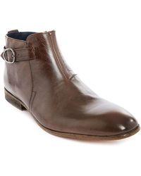Billtornade Fast Gordon Brown Leather Boots brown - Lyst