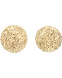 Carolina Bucci Mirador Small Sparkly Gold Earrings - Lyst