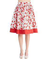 Alythea | Cherry Turnover Skirt | Lyst