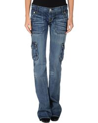 Rock & Republic Denim Trousers - Lyst