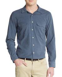 Haspel - Regular-fit Corduroy Sportshirt - Lyst
