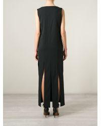 Bevza - V-Neck Fringe Dress - Lyst
