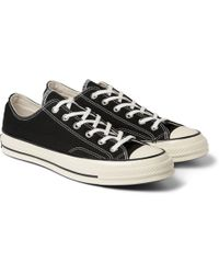 Converse 1970S Chuck Taylor Canvas Sneakers black - Lyst