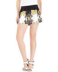 Rebecca Minkoff Silk Pisco Shorts - Lyst