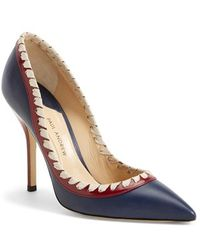Paul Andrew 'Petra' Pointy Toe Pump - Lyst