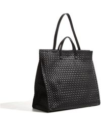 Clare V. Basket Weave Simple Tote - Lyst