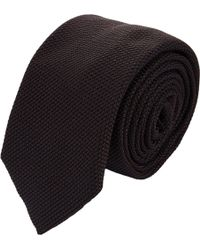 Barneys New York Grenadine Neck Tie - Lyst