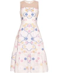 Peter Pilotto | Phaidra Embroidered Dress | Lyst