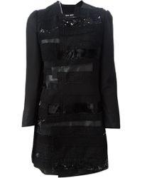 Junya Watanabe Patchwork Design Coat - Lyst