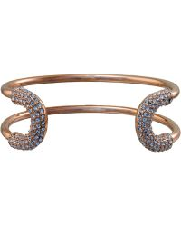 Giles & Brother Crystal Encrusted Cortina Cuff - Lyst