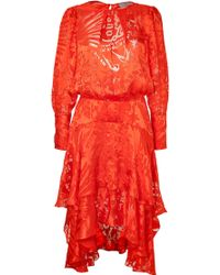 Preen Silkblend Naboo Cocktail Dress - Lyst