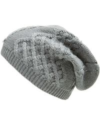 UGG - Australia 'isla' Metallic Knit Beanie - Lyst