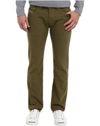 Diesel Safado Trousers in Green - Lyst