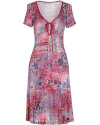 John Galliano | Knee-length Dress | Lyst